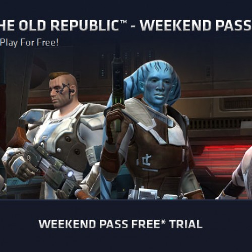 Play Star Wars: The Old Republic for free this weekend