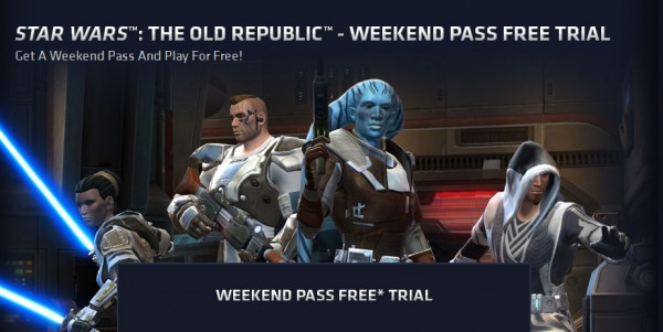 Play Star Wars: The Old Republic for free this weekend ...