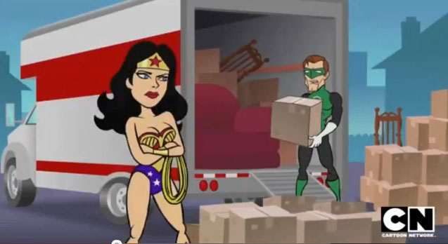 mad justice league men - photo #12