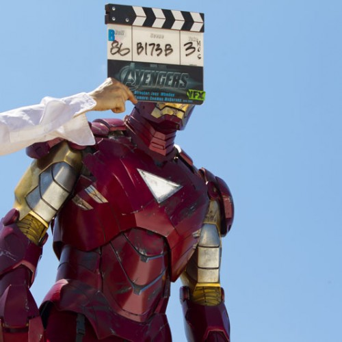 New Marvel's The Avengers behind-the-scenes pics