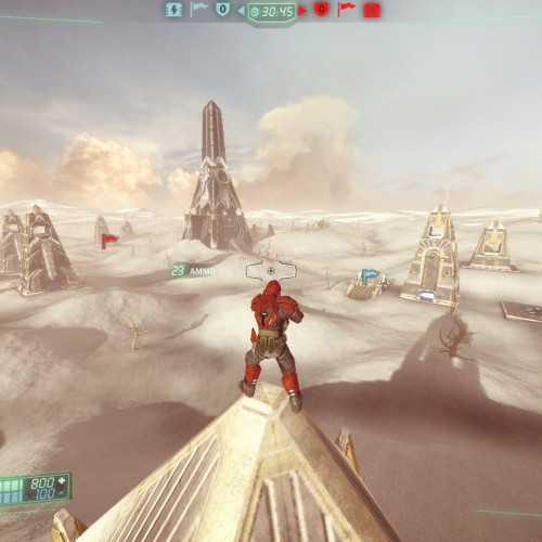 Tribes: Ascend updated, two CTF maps added
