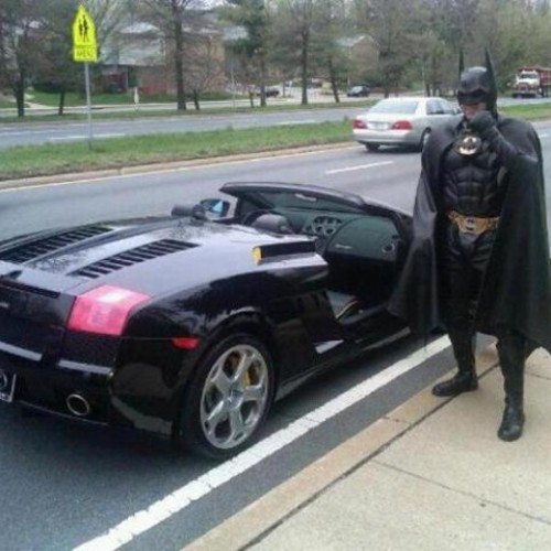 Batman gets pulled over?!