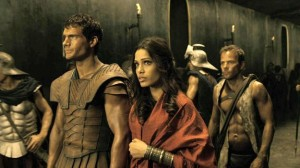 henry cavill as theseus, freida pinto as phaedra the oracle, stephen dorff in immortals movie