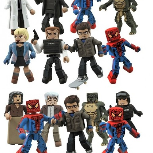 Spider-Man Minimates available this summer!