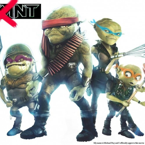 Details revealed for Grown Up Alien Ninja Turtles