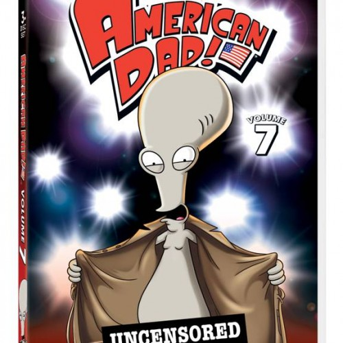 We're giving away 3 DVD copies of American Dad Volume 7