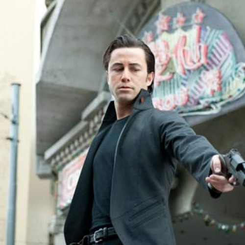 Get a sneak peek of the Looper trailer starring Joseph Gordon-Levitt and Bruce Willis