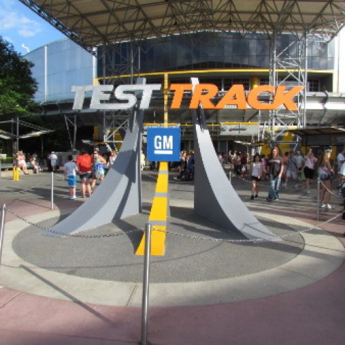 Cars Land is in; Epcot's Test Track is out!