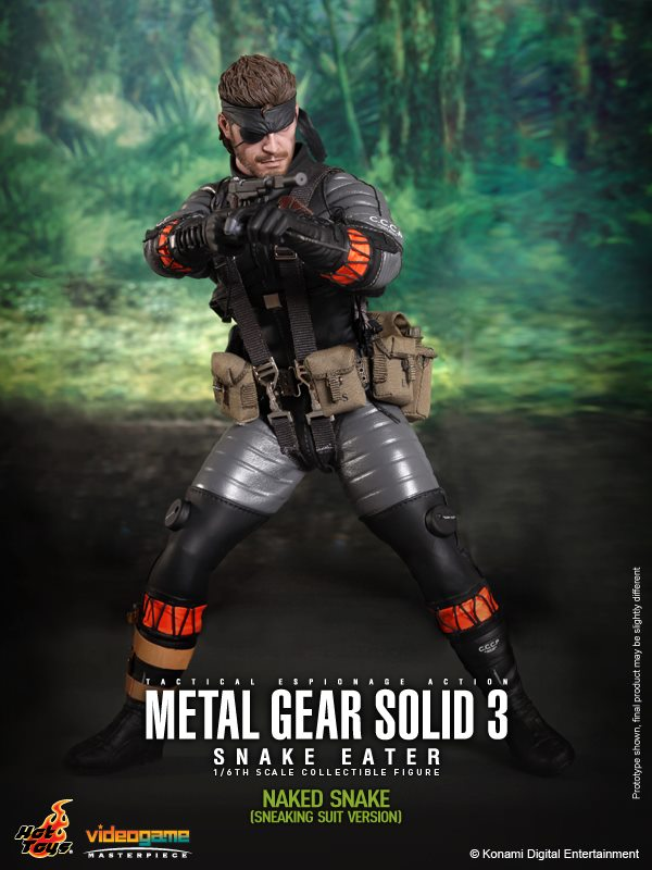 Mgs3 Snake Eater Figures From Hot Toys Nerd Reactor
