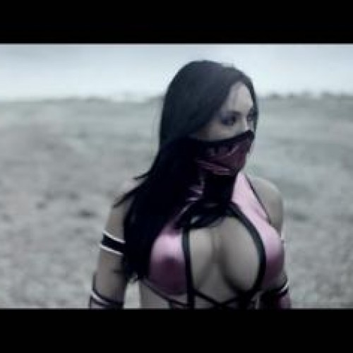 Mileena and Kitana live-action Mortal Kombat ad for your pleasure