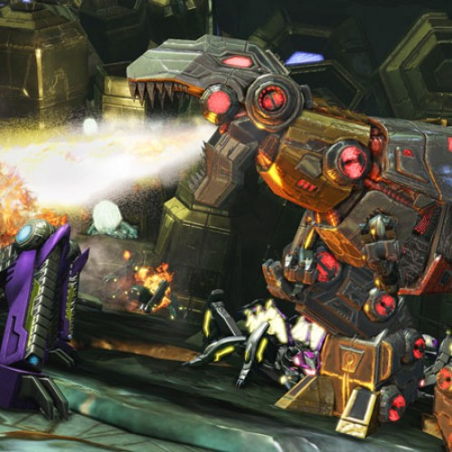 See Grimlock in action in this Transformers: Fall of Cybertron gameplay video and screenshots