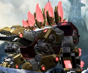 Transformers FOC - Snarl in dinobot form_1