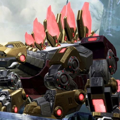 New Dinobots screenshots from Transformers: Fall of Cybertron