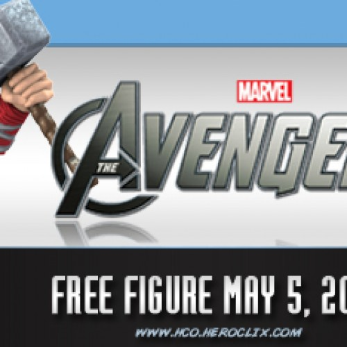 Free Avenger's Thor figure on Comic Book Day nationwide