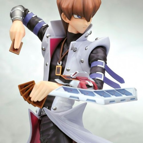 Own the richest man in Yu-Gi-Oh! Seto Kaiba in statue form