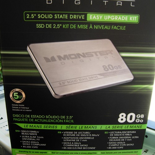 Monster Digital Le Mans Series SSD's – Easy upgrade kit review