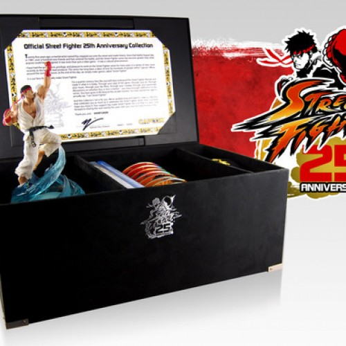 Street Fighter 25th Anniversary Collector's Edition announced