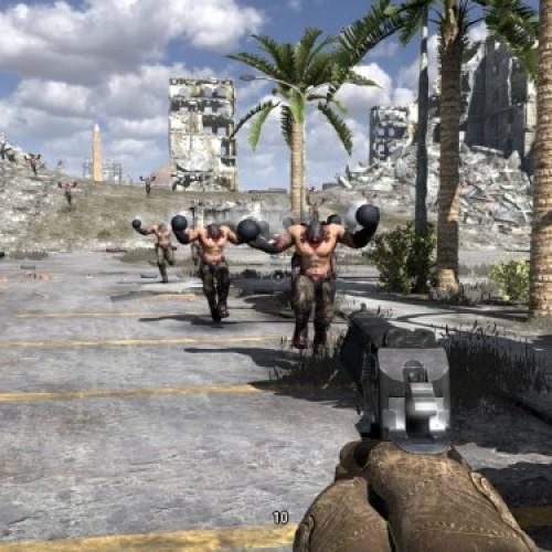 Serious Sam hitting Xbox Live with a sledgehammer