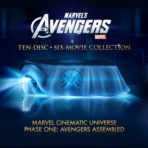 Marvel teases us with The Avengers 10-disc Blu-ray Collectors Edition set