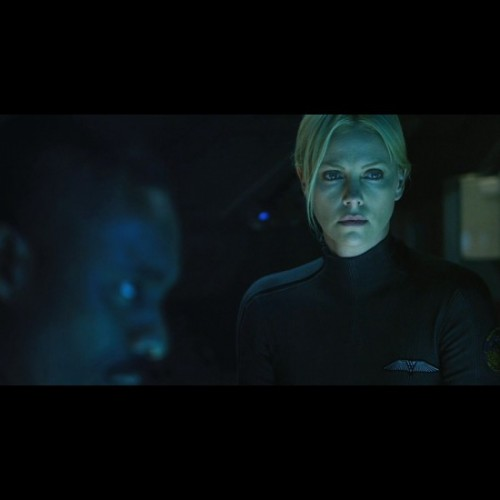 Prometheus video shining more light on Charlize Theron's Meredith Vickers