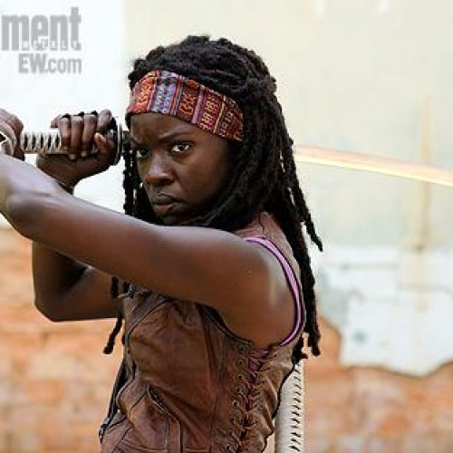 The Walking Dead's Danai Gurira as Michonne revealed