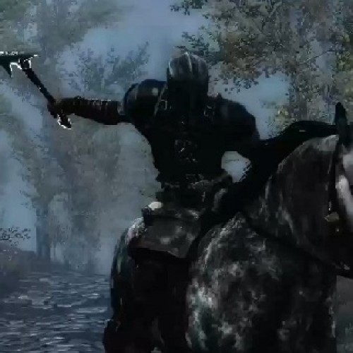 Skyrim: Dawnguard DLC trailer, become a vampire (or don't)
