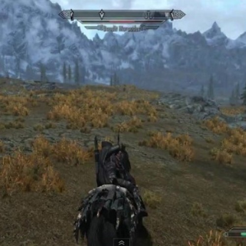 This isn't horse armor, it's mounted combat for Skyrim (and free)