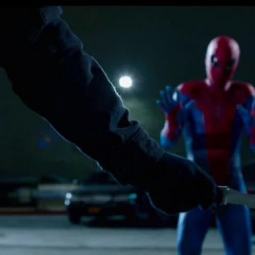 How douchey can Spider-Man get in this clip?