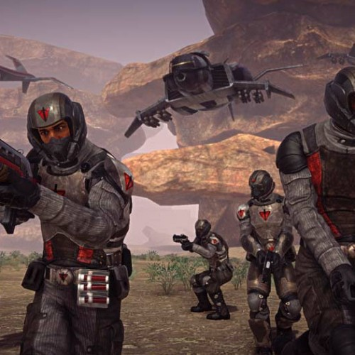 PlanetSide 2 E3 2012 presentation is online