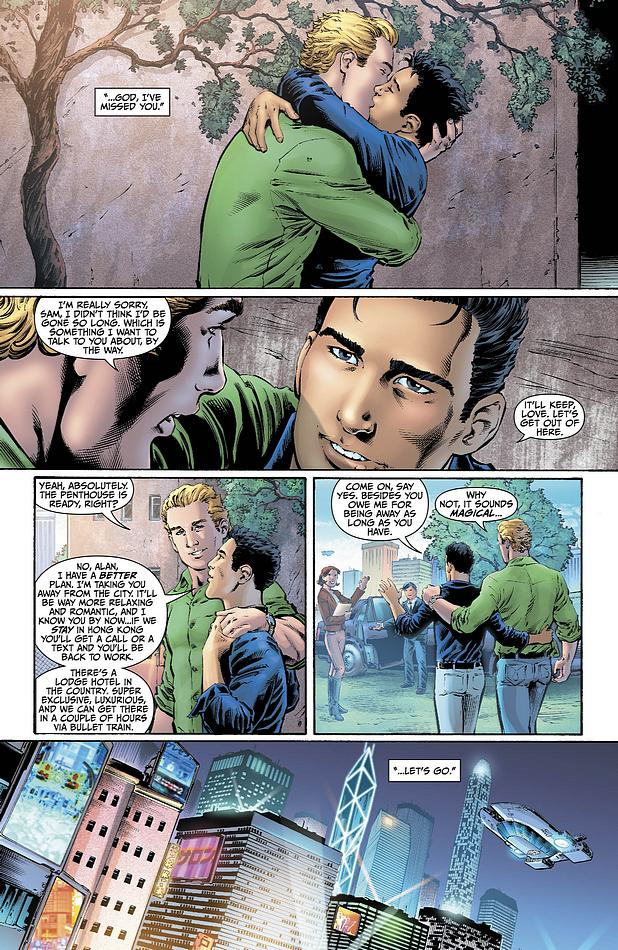 Alan Scott is Gay, and Other Gender and Race Changes in DC
