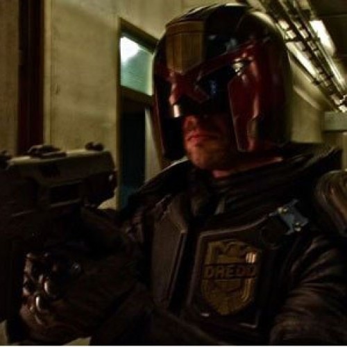 10 seconds of the new Judge Dredd movie