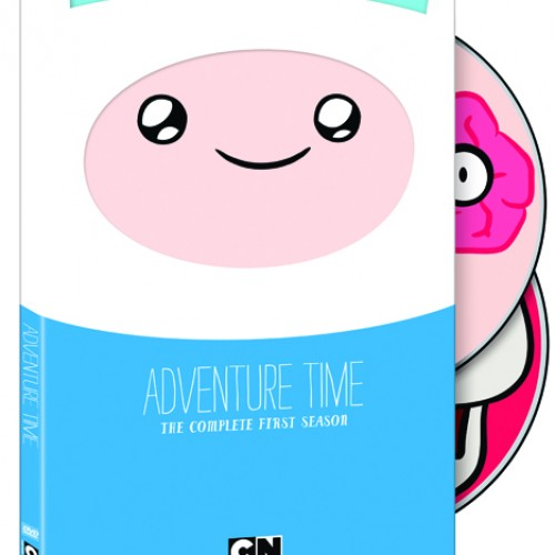 And the winners for the Adventure Time: Complete First Season DVDs are…