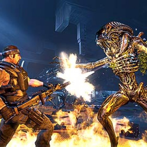 Sega's upcoming Aliens: Colonial Marines will scrap female characters