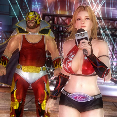 Dead or Alive 5 Tag Mode video and screenshots featuring Tina Armstrong, Lisa and Jann Lee