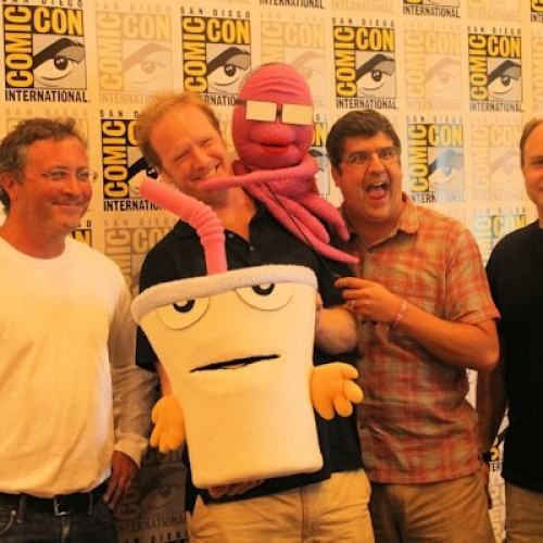 SDCC 2012 – Aqua Something You Know Whatever and Squidbillies