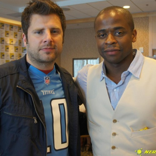 SDCC 2012: Psych roundtable interview