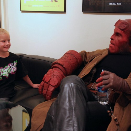Ron Perlman becomes Hellboy again for a Good Cause