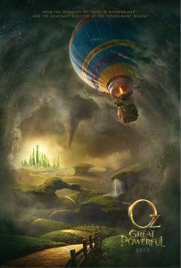 Oz the great and powerful poster art