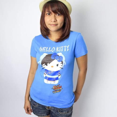 And the winners for the Hello Kitty Chun Li t-shirts are…