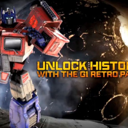 Optimus Prime's got the touch in Transformers: Fall of Cybertron