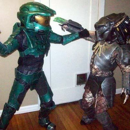 Halo Spartan vs Predator, who will win?