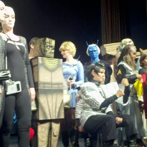 2012 Las Vegas Star Trek Convention: Costumes thinking outside the box