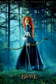Angela Bermúdez A. as Merida from Brave