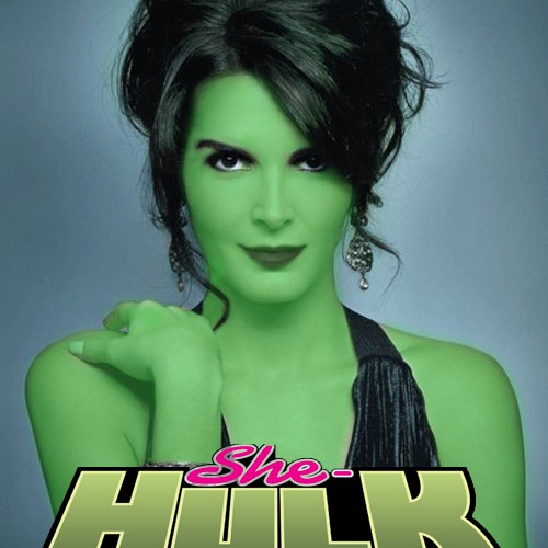 Angie Harmon wants to play She-Hulk