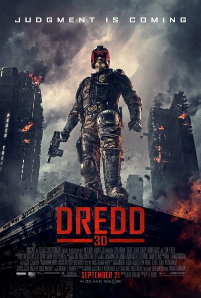 Final Judge Dredd 3D poster