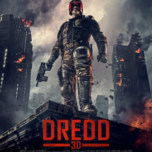 Final Dredd 3D poster looks pretty bad ass