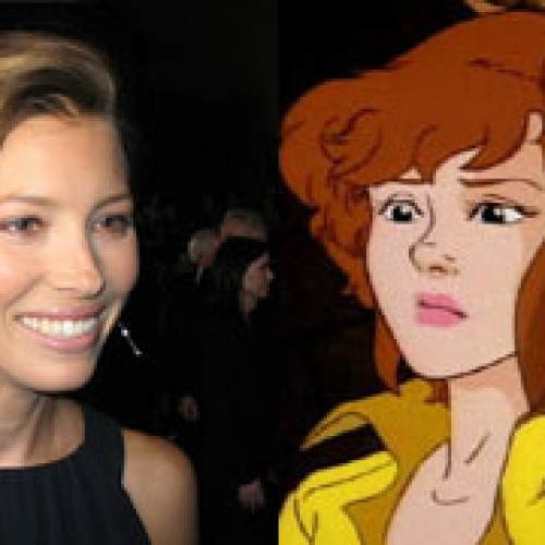 Jessica Biel is down to play April O'Neil from TMNT