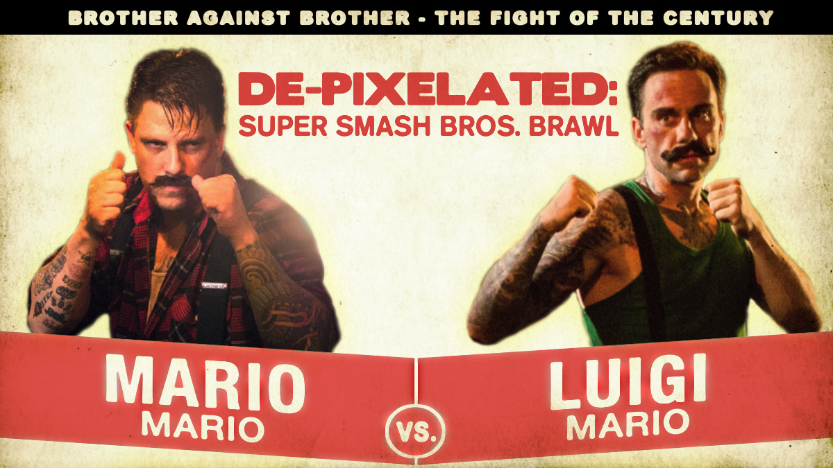 Mario And Luigi Love To Beat The Crap Out Of Each Other Nerd Reactor