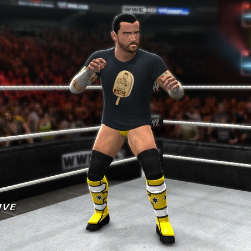 WWE '13 adding the CM Punk Ice Cream Bar T-shirt for pre-orders