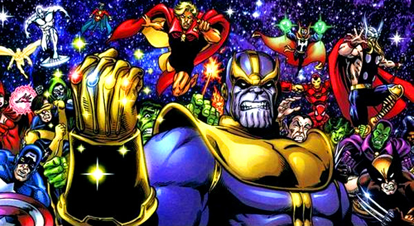 Thanos vs The Avengers